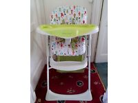 Mamas and papas high chair in excellent condition