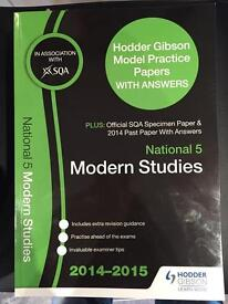 National 5 Past Papers Modern Studies