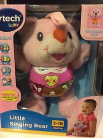 Vtech pink bear new in box