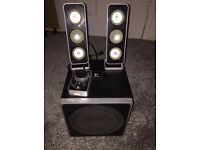 Logitech Z4 speakers plus SUBWOOFER