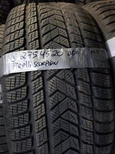1 winter tire pirelli scorpion 275/45r20