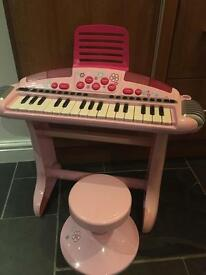 ELC piano in pink