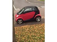 Smart city cabriolet! Low miles, recon engine