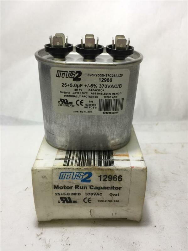 JARD By Mars 12927 Mars2 Capacitor 3 uf MFD 440 volt 12927 NEW