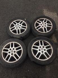Vauxhall 205/55r16 alloys 5 stud