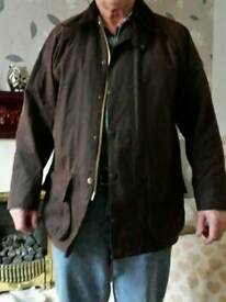 Barbour mens jacket