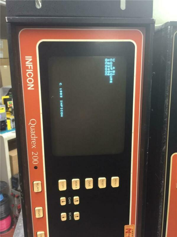 "Leybold Inficon Quadrex 200 Model 901-002-G1 Residual gas analyzer 19"" rack mt."