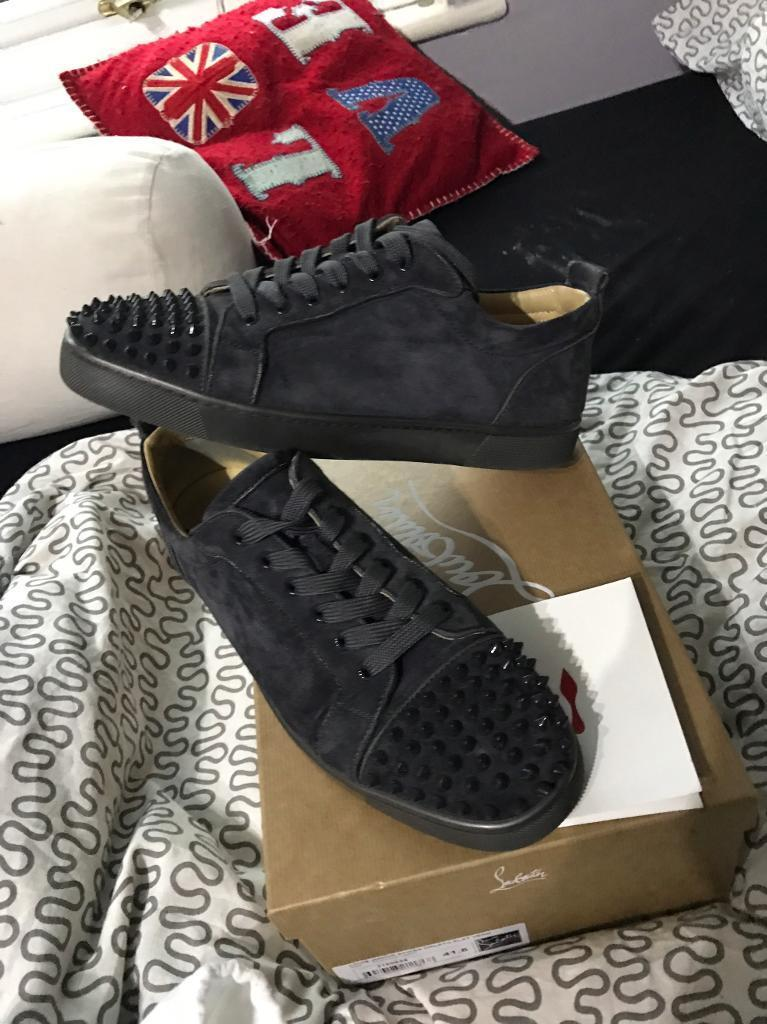 844987947fb9 ... sneakers size 10 52a89 891d1  clearance genuine christian louboutin  shoes a4acf 25fe6