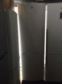 Whirlpool white good looking tall frost free A-class fridge freezer cheap