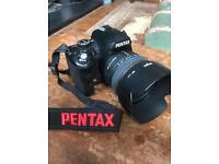 Pentax K-r with Sigma Lens