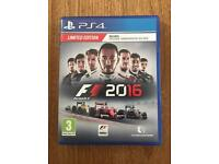 PS4 Limited edition F1 2016