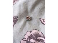Pandora Sterling Silver Edelweiss Flower Charm - Discontinued