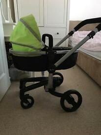 Girls Silver Cross Dolls Pushchair/ Pram