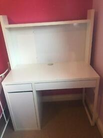 IKEA MICKE DESK & ADD ON HIGH UNIT
