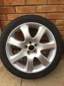 "Toyota Avensis 17"" alloy and new tyre"