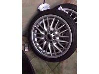 "Bmw mv1 18"" alloy wheel single wheel Can Post"