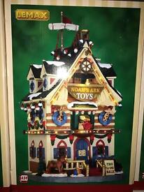 Lemax Christmas village Noah's ark toys BRAND NEW
