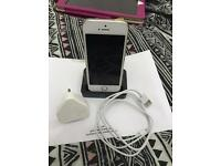 iPhone 5s 16gb gold factory unlock grade A