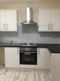 BRAND NEW 1 BED FLAT, QUEENS RD CLARENDON PARK, PART FURNISHED £600 pcm