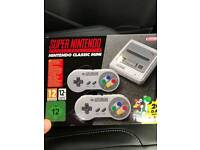 Brand New Nintendo SNES Mini Console with Games