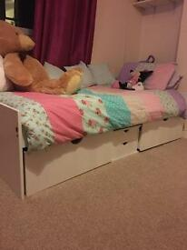 Kids Cabin Bed With Storage