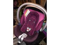 Car seat suitable from newborn