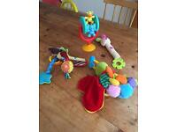 Selection of baby toys only £5 for all