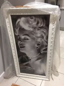 Bespoke framed picture of Marilyn Monroe