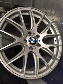 BMW CSL Alloy Zito 935 19 Inch Single Spare Wheel Rim 5x120 Fit 9.5J Refurbished Rear