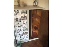 Vintage Tallboy/Wardrobe with Beetle design