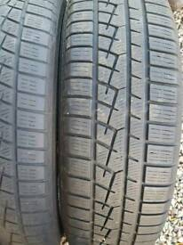Set of 4 winter tyres
