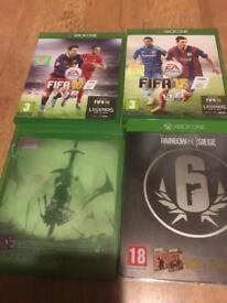 4 Xbox one games