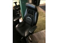 Heavy Duty Ergonomic High Back Leather Chairs - £100