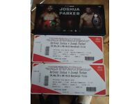 Discount Anthony Joshua vs Joshua Parker Tickets - Two Central View Upper Tier tickets