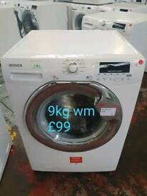 Hoover 9kg washing machine free delivery in derby