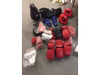 Joblot Boxing Mitts Trainers Pads Punch Ball Etc