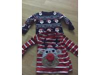 Christmas jumper and top