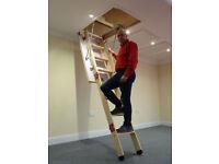 Grand Wooden Loft Ladder - Brand New