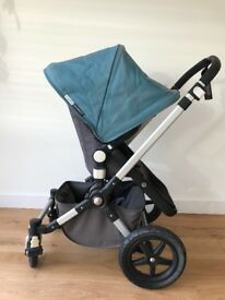 Bugaboo Cameleon 3 Push chair with carry cot, footmuff, rain cover, sun canopy, carseat adapters