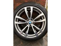 Bmw F15 20inch alloys and tyres