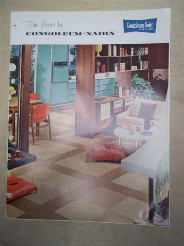 Congoleum-Nairn Catalog~Vinylbest Vinyl-Asbestos Floor Tile~1962