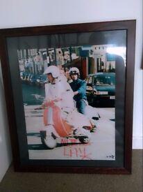 Oasis Signed Photographs Framed