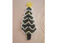 Christmas tree shaped door/wall hanging.