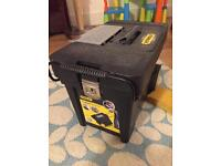 Stanley portable tool chest on wheels