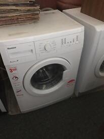 Blomberg 6kg washing machine 8 months old