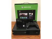 XBOX ONE WITH 1 CONTROLLER AND KINECT - BOXED
