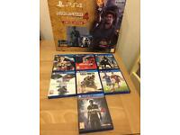 Limited edition 1TB PS4 + 7 games 6 months warranty and Receipt