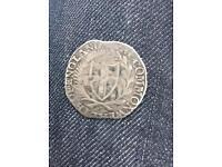 Rare coin Silver commonwealth shilling