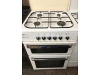 60cm white flavel milano f60 gas cooker