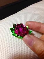 Super cute  handmade sparkling paper tiny lotus flower